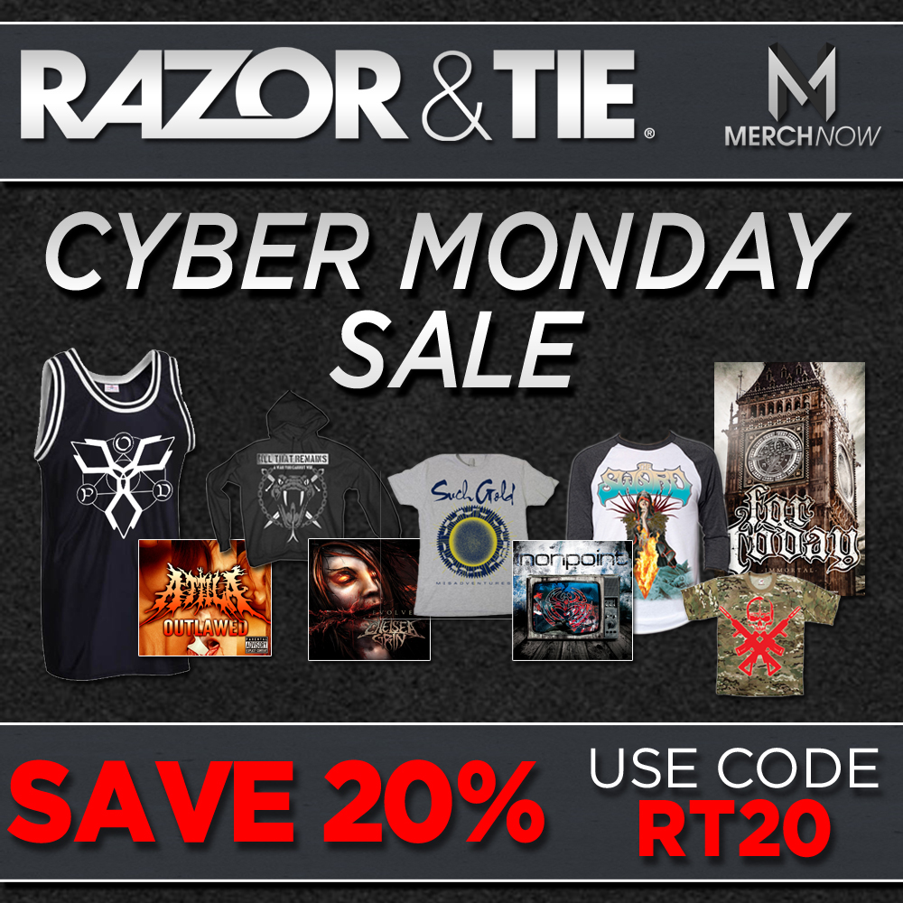 razor tie celebrates cyber monday with 20 all
