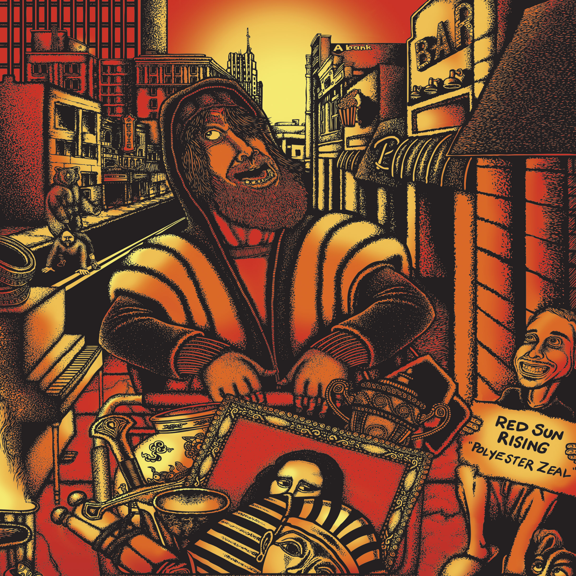 RED SUN RISING NEW ALBUM POLYESTER ZEAL AVAILABLE FOR PRE ...