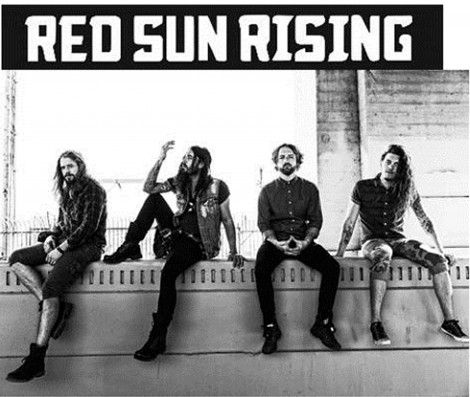 red sun rising top rock radio chart with the otherside razor tie. Black Bedroom Furniture Sets. Home Design Ideas